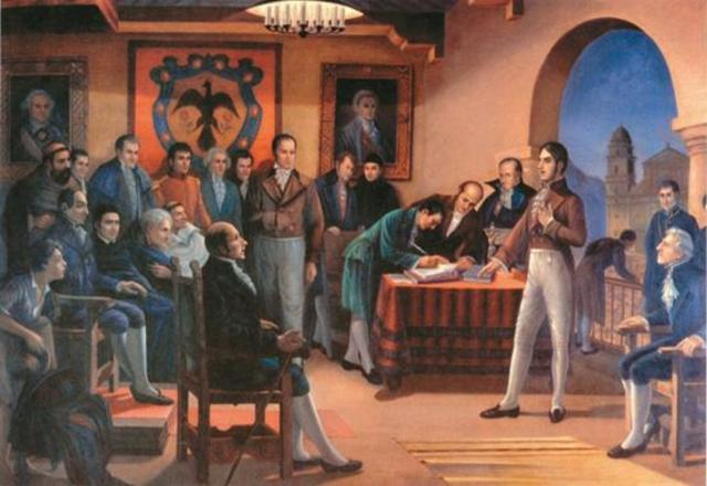 Independence of Nueva Granada