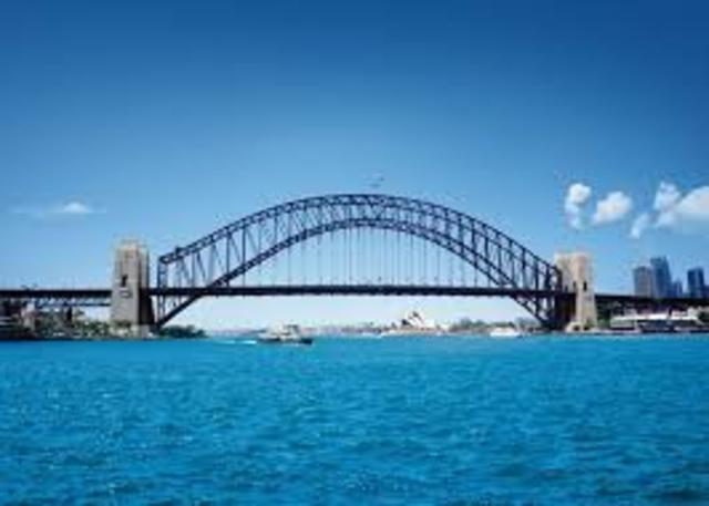 Le pont Harbour Bridge
