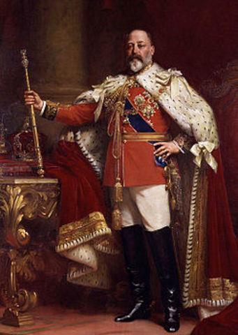 És rebut per Eduard VII el va nombrar comendador de la Real Orden Victoriana,