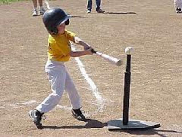 Yo juegé beísbol