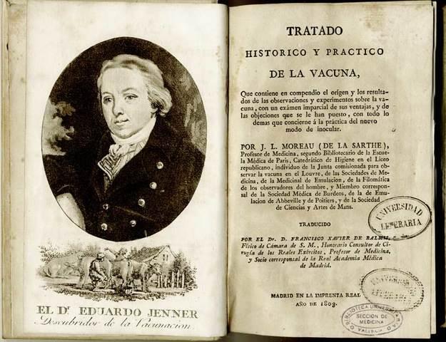 Descubrimiento de la vacuna contra la viruela
