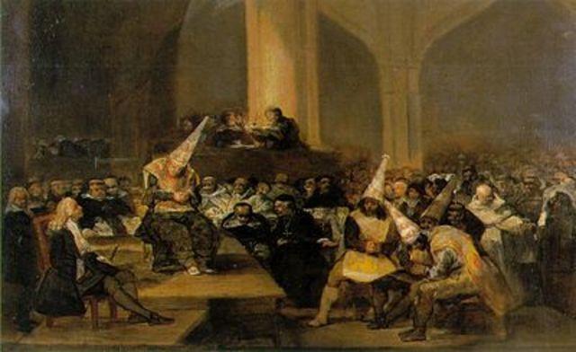 se estblecio el tribunal del santo oficio de inquisicion