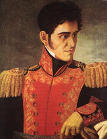 Santa anna gana las elecciones de presidente de mexico