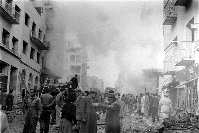 22 בפברואר פיצוץ מכנית התופת ברחוב בין יהודה שבישראל