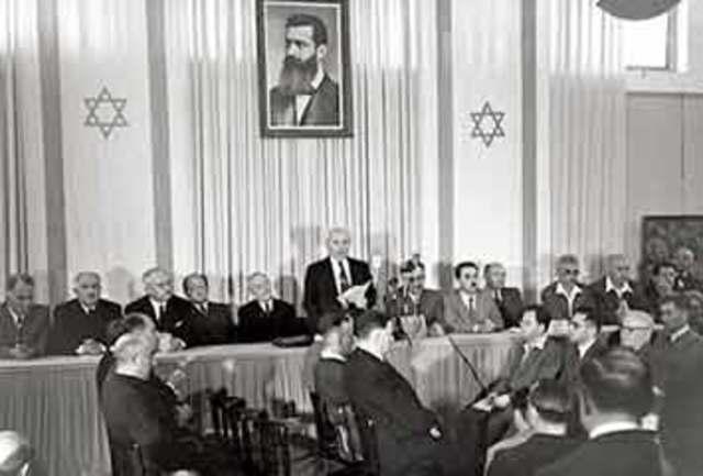 ב- 29 בנובמבר 1947 התכנסה עצרת האומות המאוחדות והחליטה ברוב של 33 כנגד 11 על סיום המנדט הבריטי בארץ ישראל.