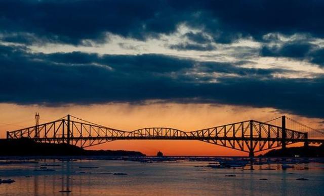 Pont de Quebec - Nils et Arthur