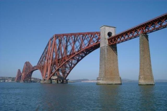 Pont sur le Forth - Nils et Arthur
