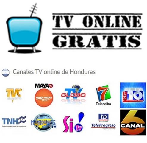 Transmisiones en vivo de canales Hondureños vía Internet