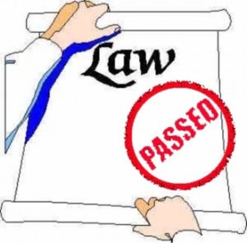 Laws are Passed