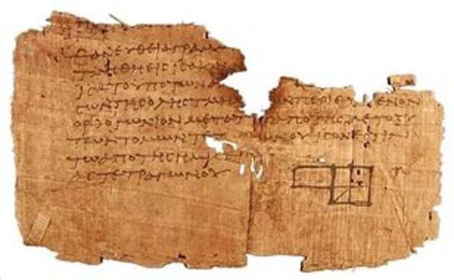 "3 век до н.э. Евклид ""Начала"""