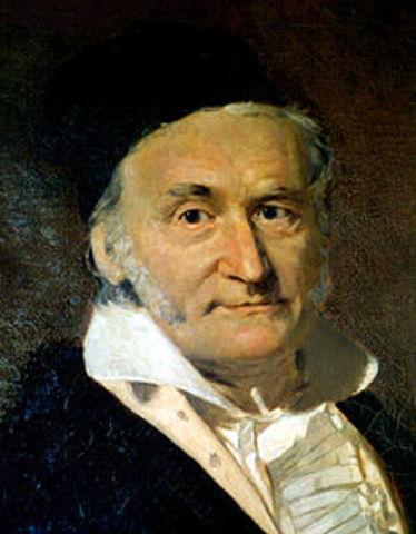 1801 г. К. Гаусс создал основы теории чисел.