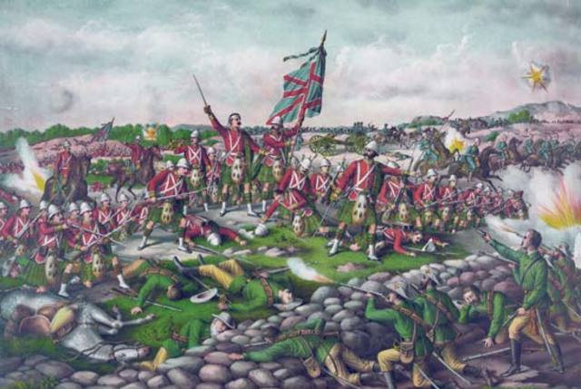 British victory in South