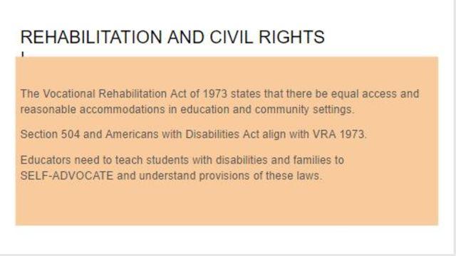 Vocational Rehabilitation Act of 1973