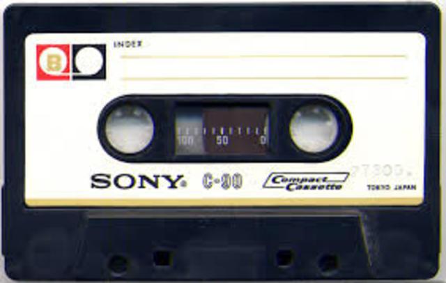 invention de la cassette audio