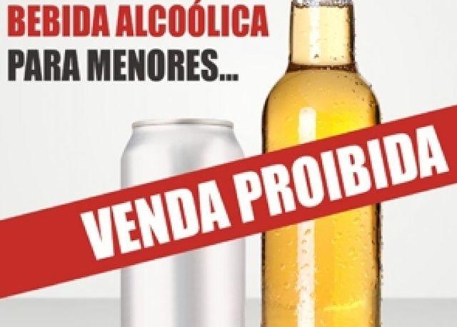 Probição de álcool para menores