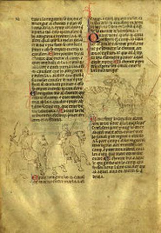 Bernat Desclot: Crònica del rei en Pere--> Historiografia