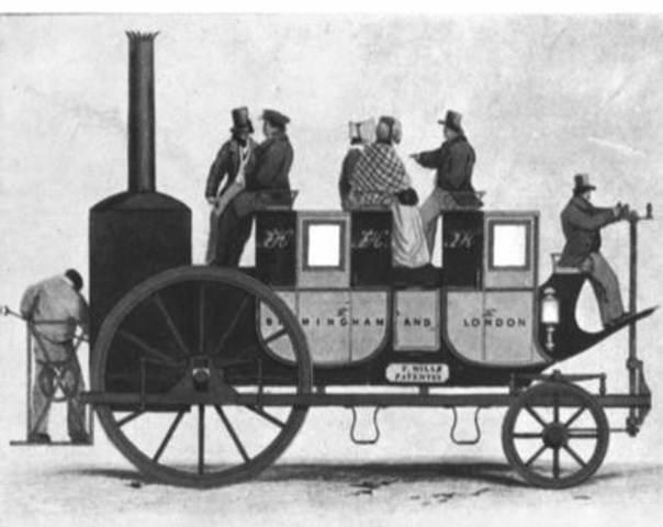 Primer Locomotora (Transporte)