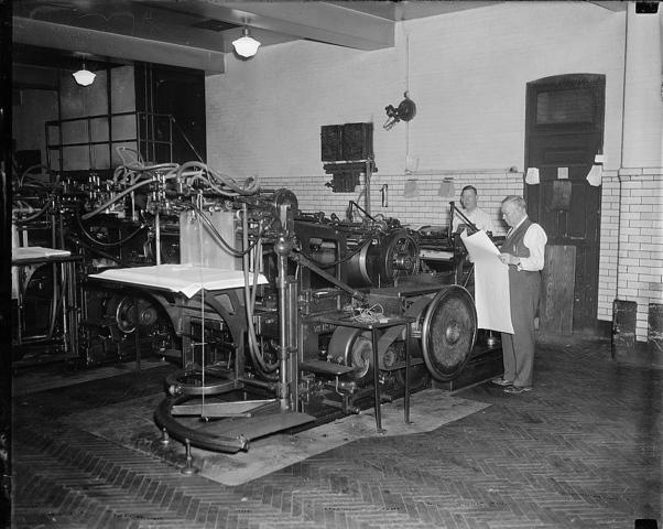 Printers' Strike in Philadelphia