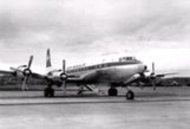 1945 - 1980Turbohélices Douglas DC-7.