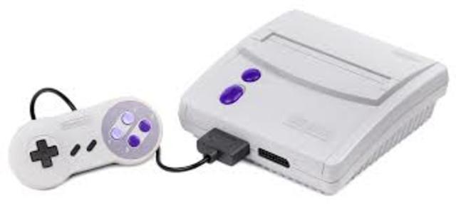 Super Nintendo Entertaiment System