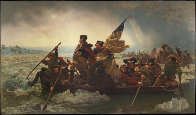 Washington's Christmas night surprise attack