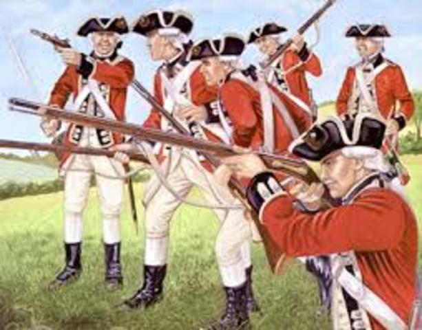 Redcoats push Washington's army across theDelaware River into Pennsylvania