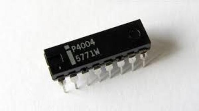primer microprocesador del mundo.