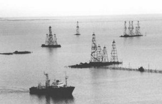 Los Rothschild forman la compañia Caspian and Black Sea Petroleum Company.