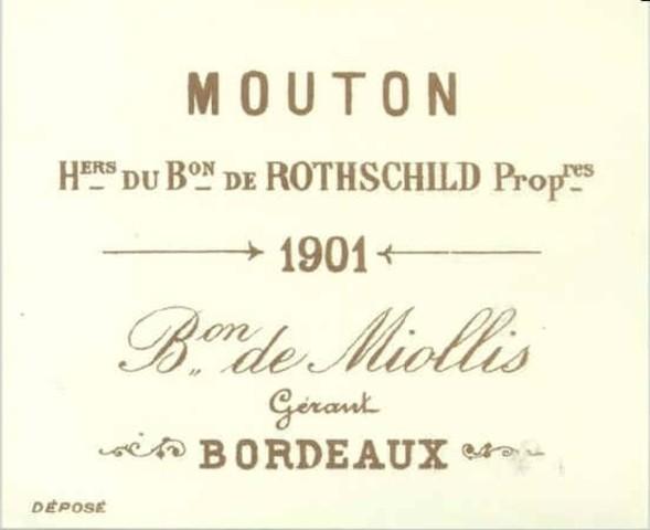Nathaniel de Rothschild , compra el Chateau Brane Mouton.