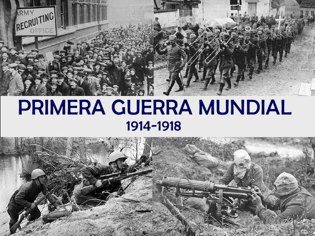 Inicia la Primera Guerra Mundial.