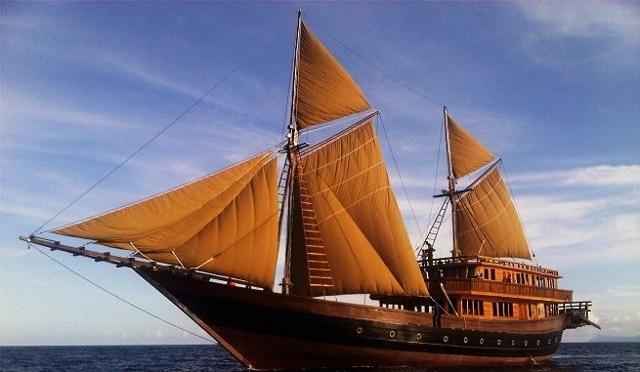 Edad Antigua Embarcaciones en Vela (Transporte)