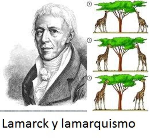 Lamarck y el Lamarquismo