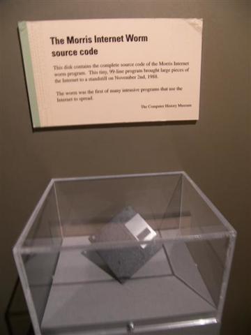 First Internet Virus