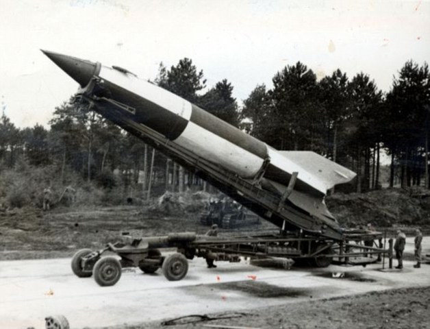 Germany successfully test launches the first ballistic missile