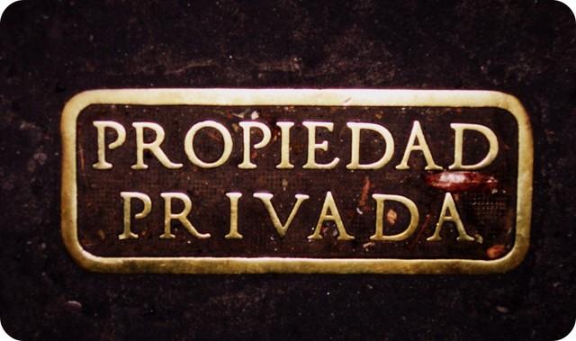 INICIO DE LA PROPIEDAD PRIVADA