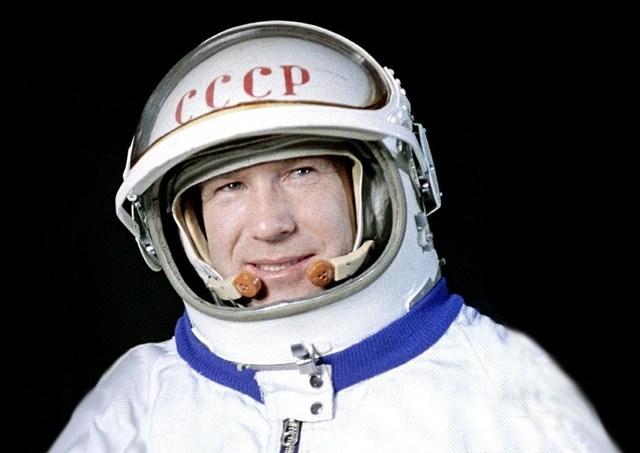Soviets Make the First Spacewalk