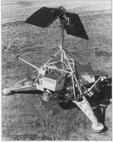 Luna 9 Lands on the Moon
