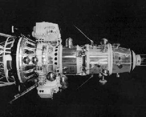 Soviet Luna 10 Enters Lunar Orbit