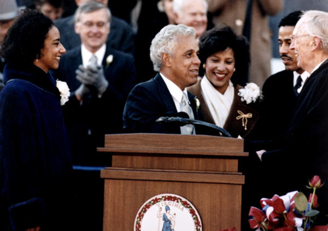 Douglas WIlder first African American governor