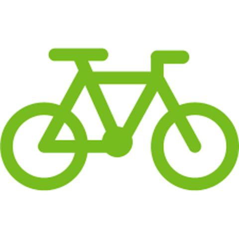 montí un bicicleta