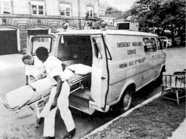 America's first trained Paramedics