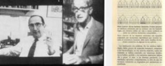 Max Delbruck y Salvador Luria. Herencia de las caraterísticas genéticas