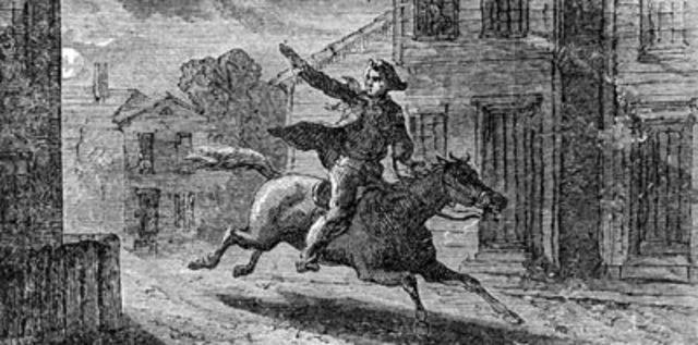 Midnight Riders: Revere, Dawes, Prescott