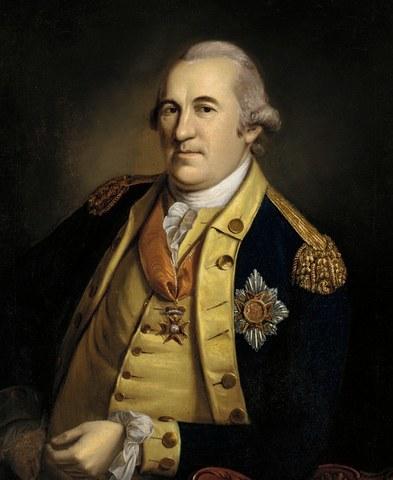 Friedrich van Steuben and Marquis de Lafayette
