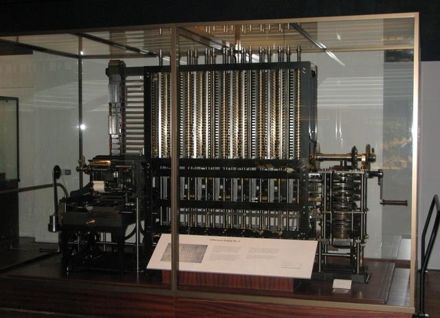 Charles Babbage : Machine analytique