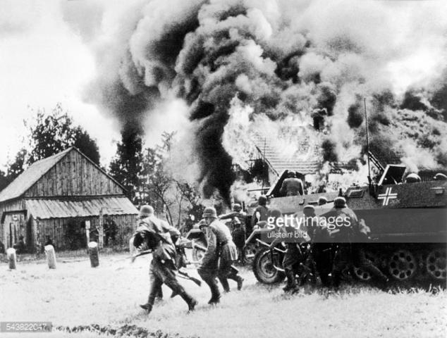 German blitzkrig