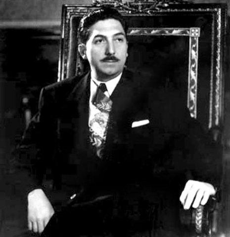 Toma de posesión de Miguel Alemán Valdez, como presidente de México