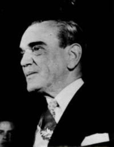 Toma de posesión como presidente Adolfo Ruíz Cortines