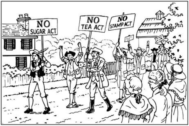Stamp Act and colonists response