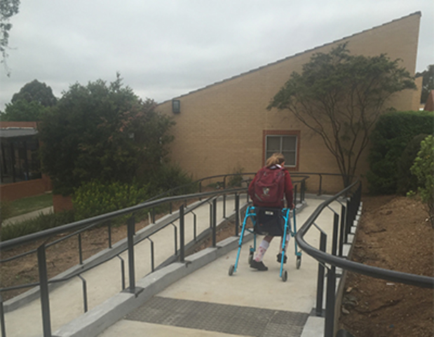 New Access Ramps